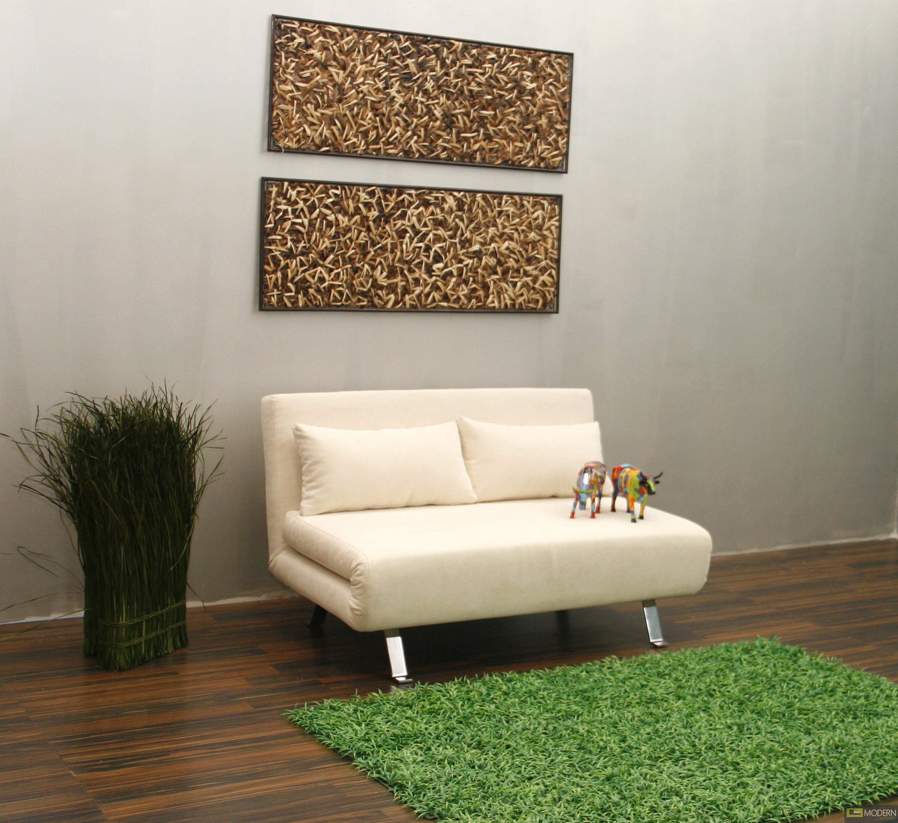 Kenzo - Modern Microfiber Sofa Bed