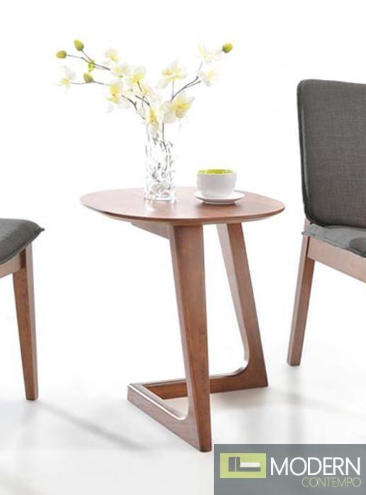Jett Modern Walnut End Table