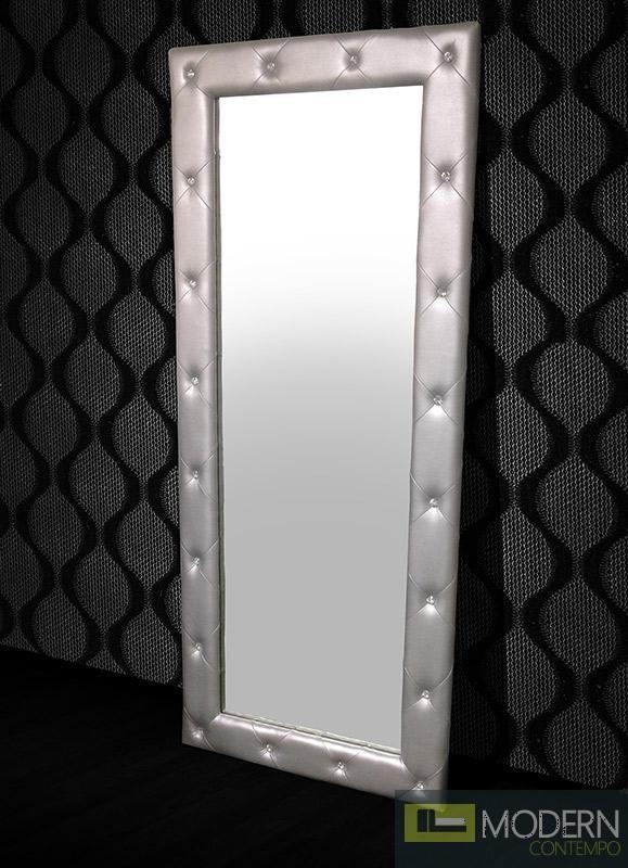 Modrest Monte Carlo Transitional Platinum Floor Mirror