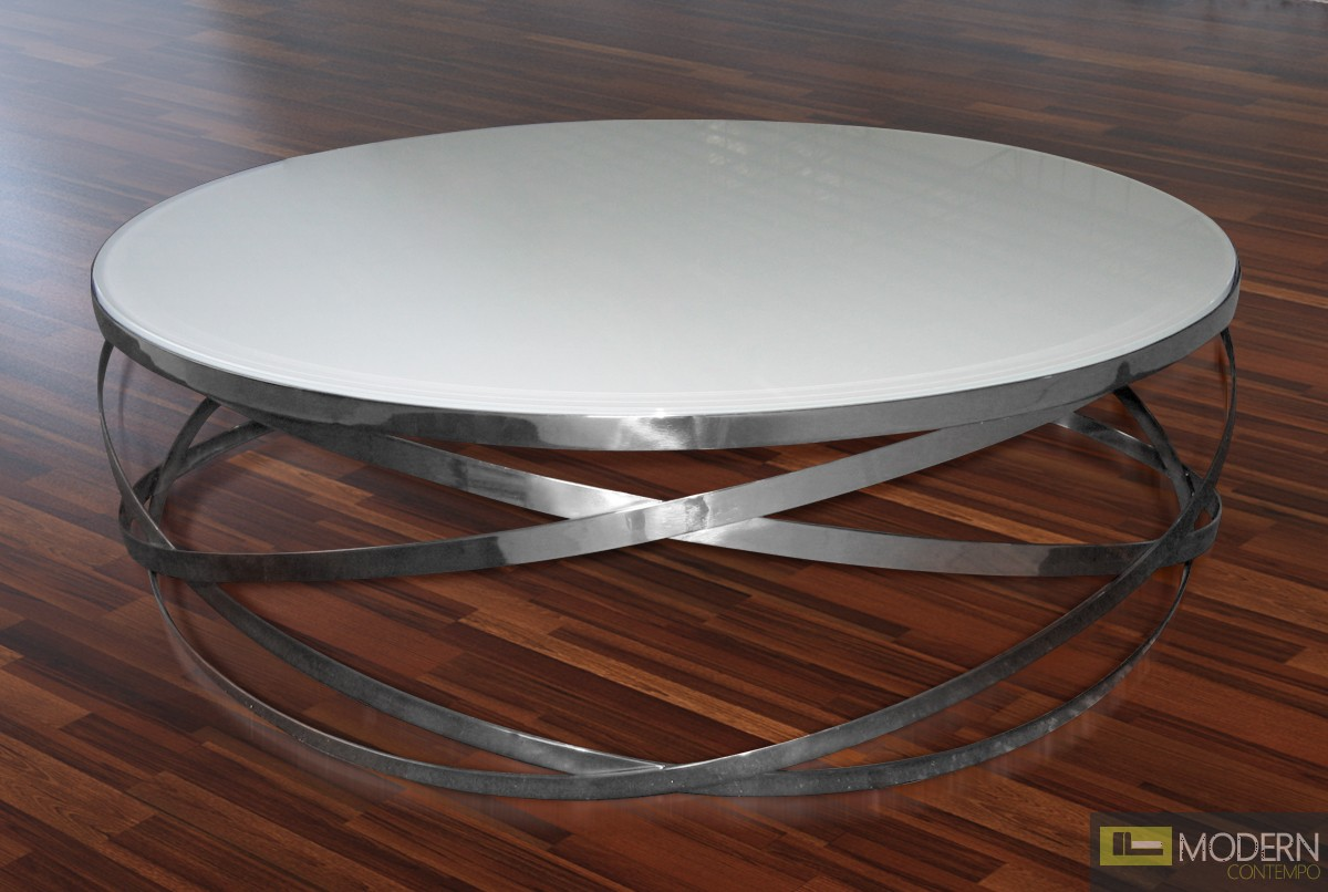 Orion - Modern Round Coffee Table
