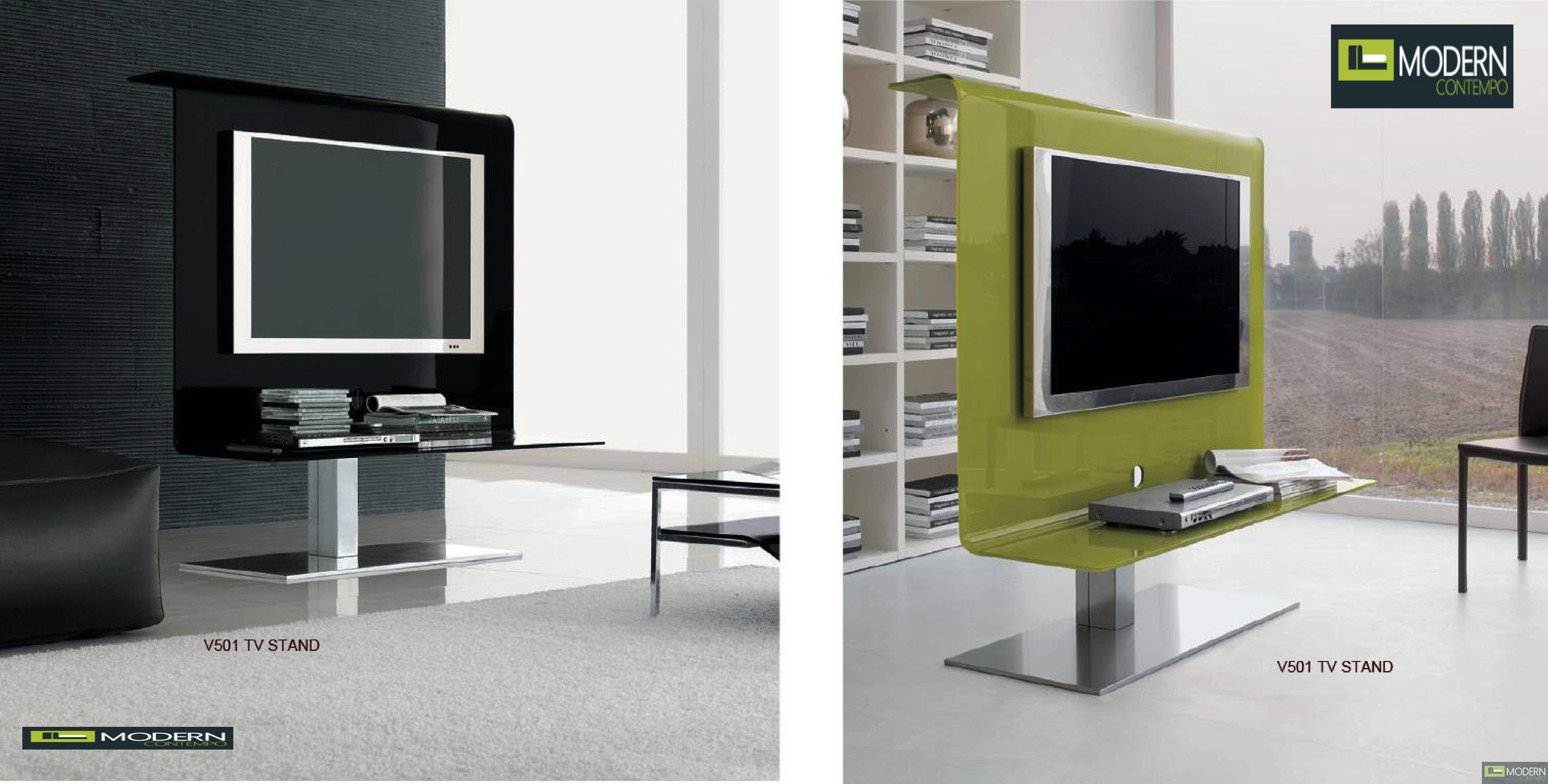 Modern Arcadia TV Stand Entertainment Center