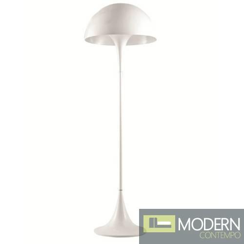 Panton Floor Lamp, White