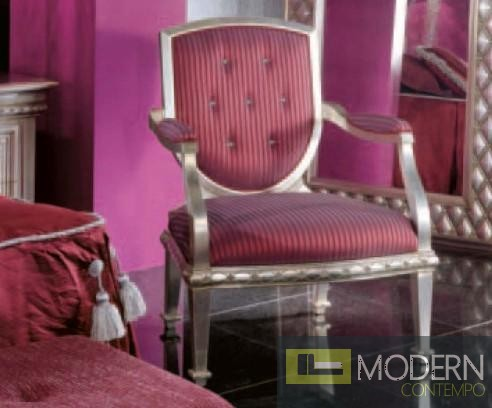Phedra Arm Chair in Pink