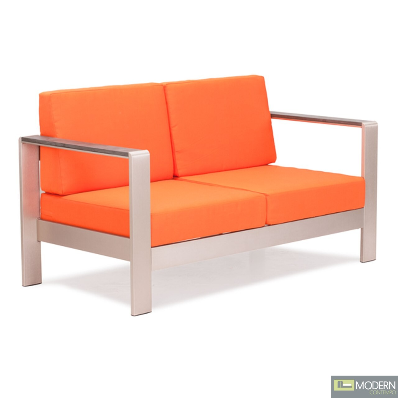 Cosmopolitan Sofa (Frame only) Brushed Aluminum