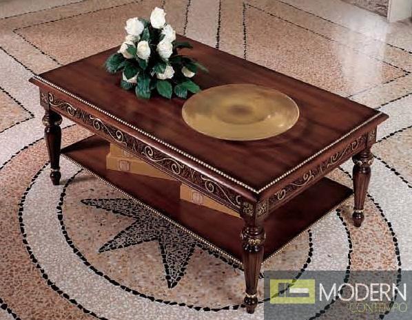 San Marco Dark Walnut Coffee Table