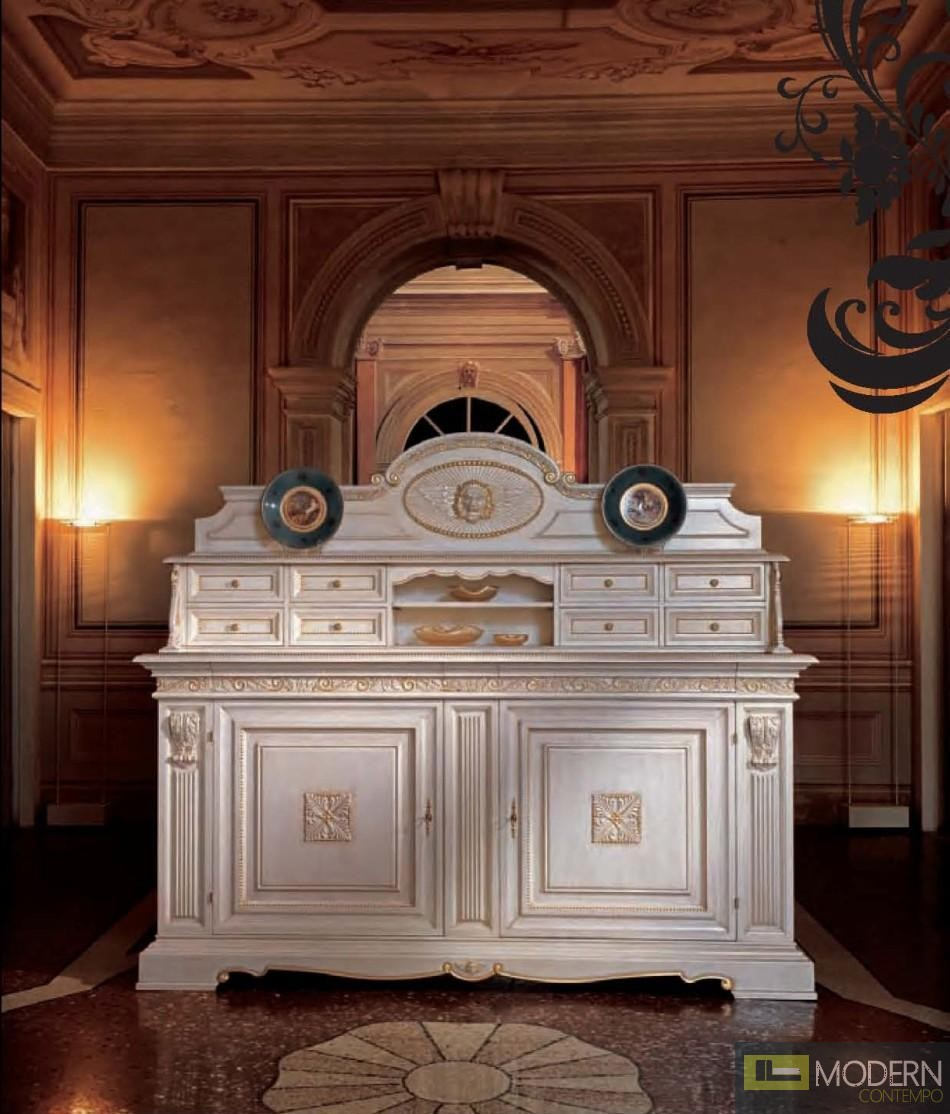 San Marco Triple Decker Display Buffet in White