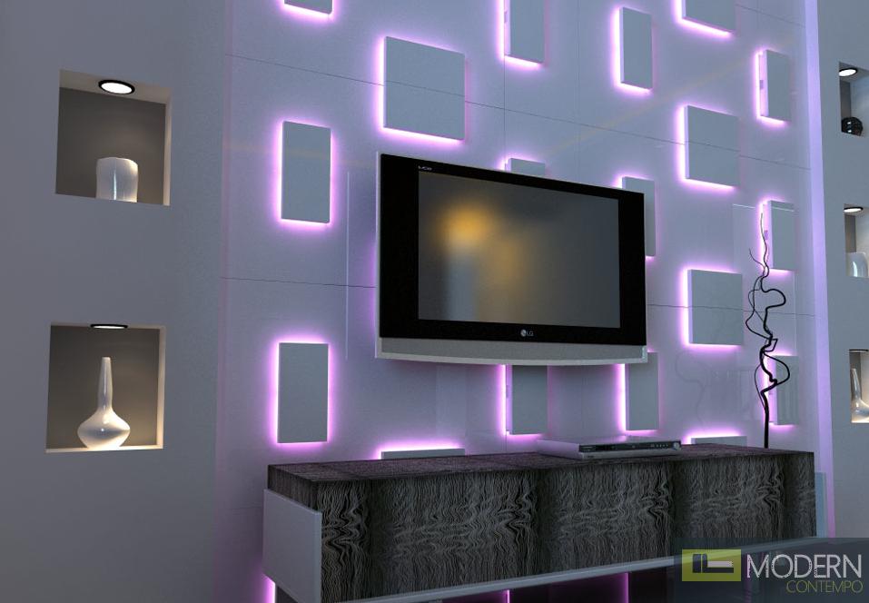 Fantastic Led Wall Decoration - Home Decorating Ideas VA98