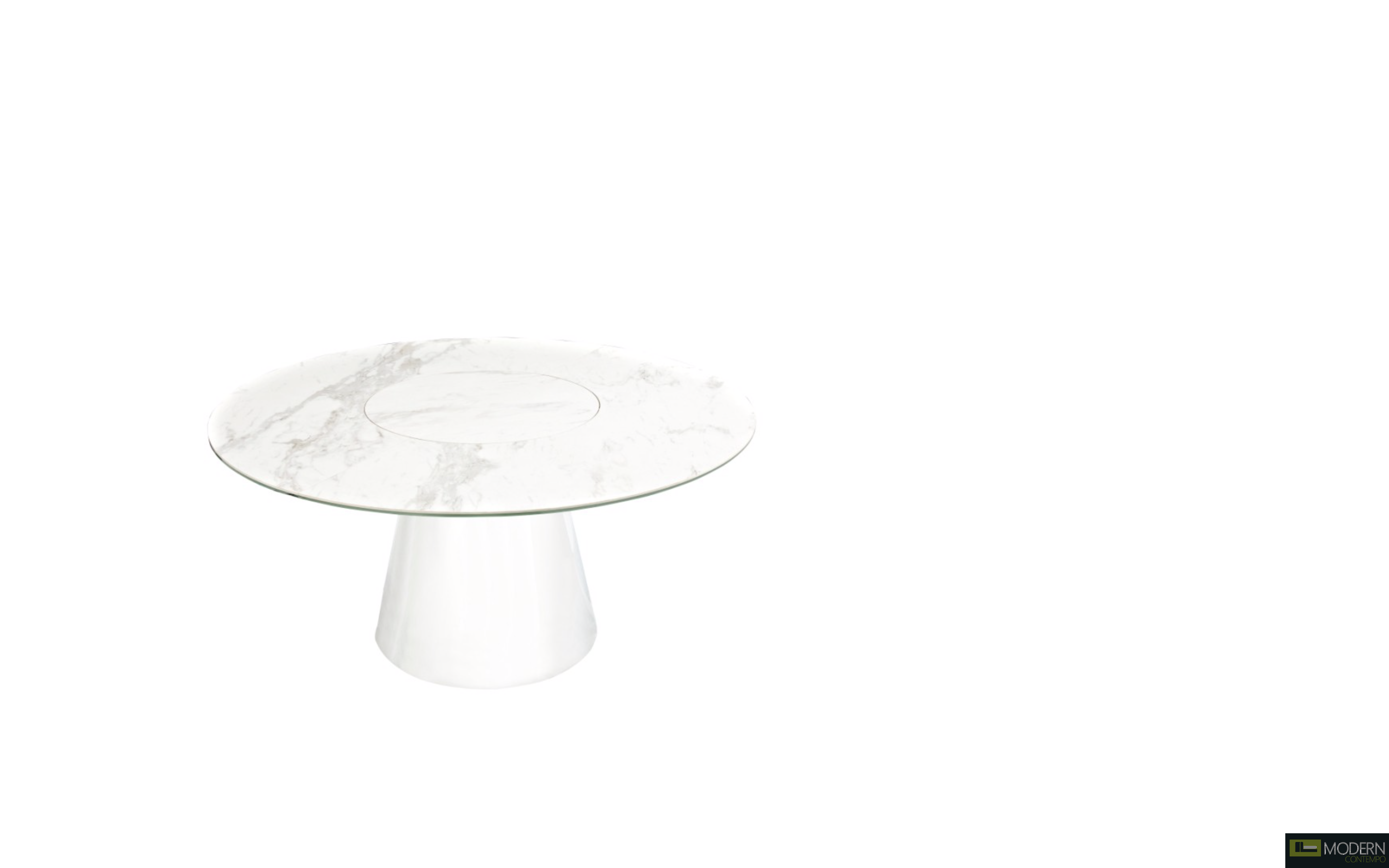 Tango Dining Table with Lazy Susan