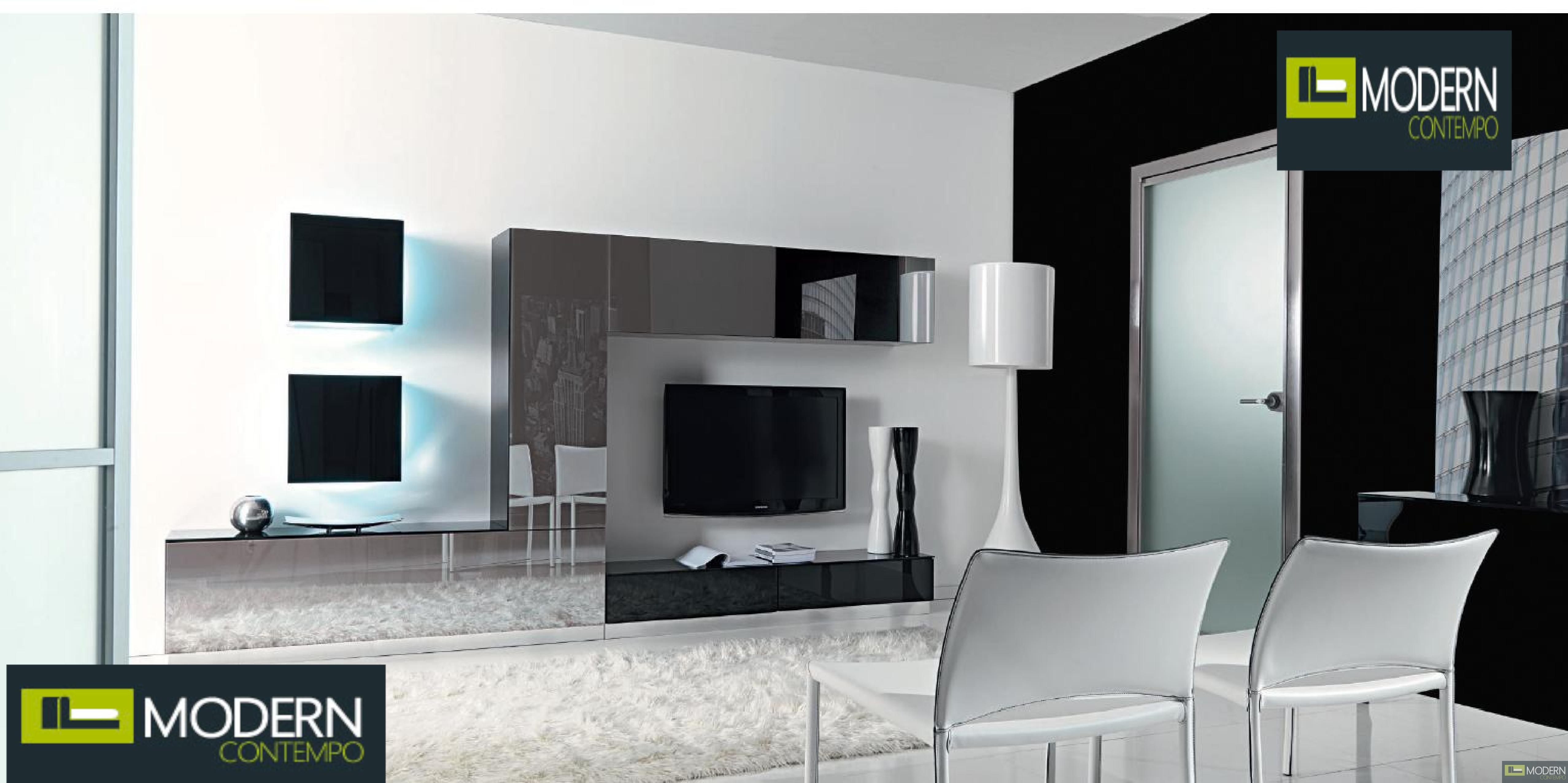 Suzanne Modern Contemporary Wall Unit  MC895