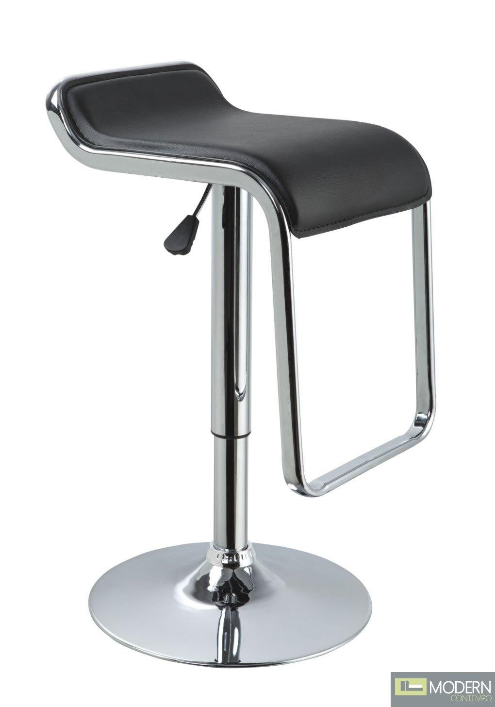 Modrest T1048 - Eco-Leather Contemporary Barstool
