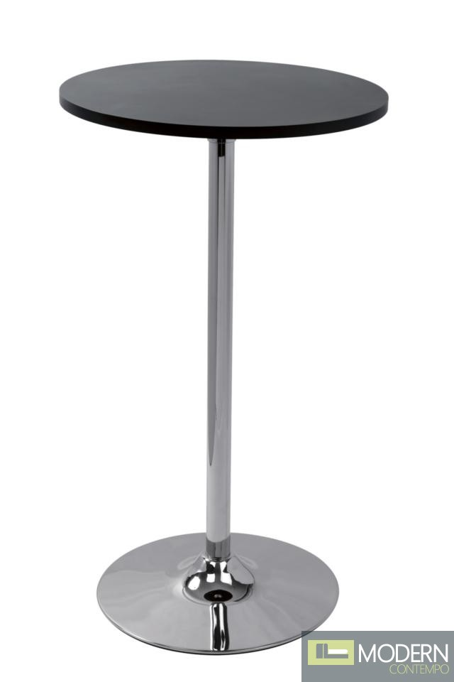 Modrest T7401 - Contemporary Black Matte Bar Table