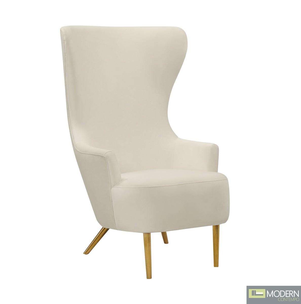 Harmony Cream Wingback Chair