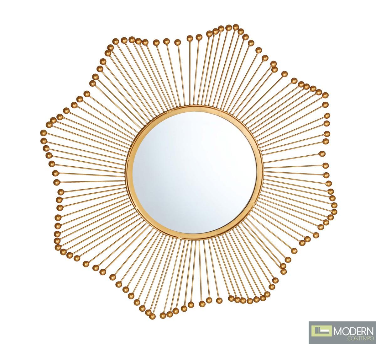 Dulce Gold Mirror