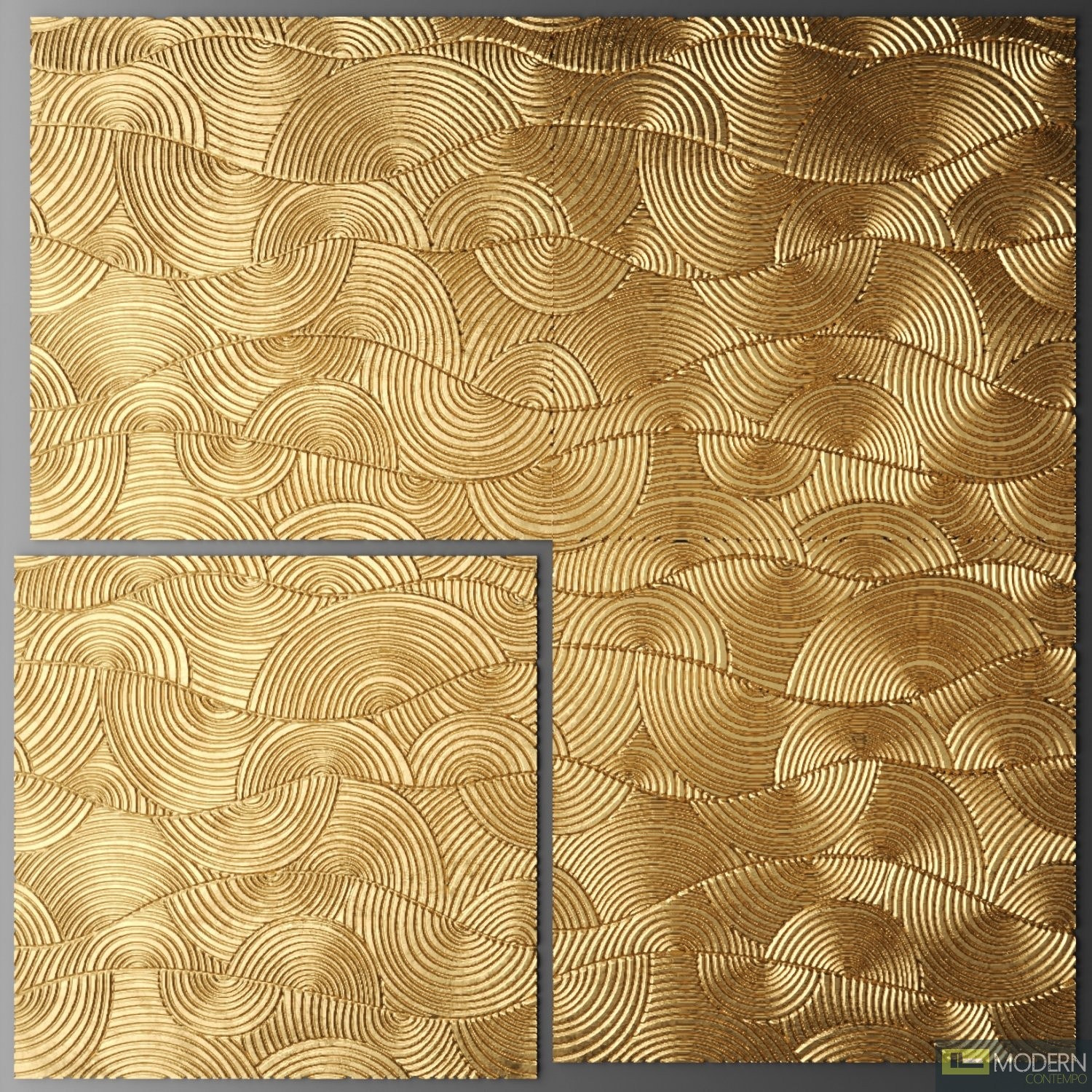 3D SURFACE WALL PANEL GOLD SERIES TSGS2002