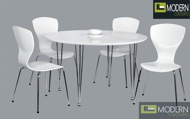 5Pc Blanca Dining Table Set