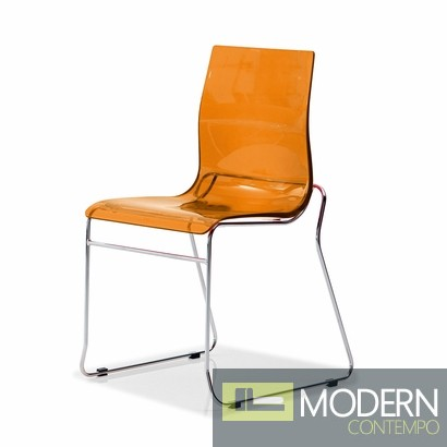 Domitalia Gel-T Stackable Dining Chair