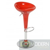 ASHBY BAR/COUNTER STOOL - RED