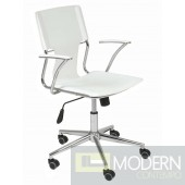 TERRY OFFICE CHAIR WHITE