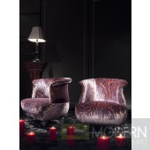 Cefalu Italian Leather Chair