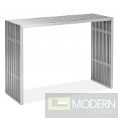 Novel Console Table Stainless Steel