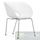 Circle Dining Chair White