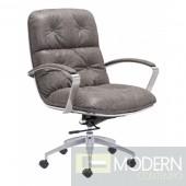 Zuo Modern Avenue Office Chair in Vintage Grey- LOCAL DMV DEALS