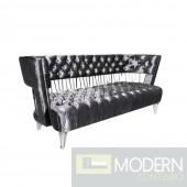 Bentega Velvet Sofa Stainless Steel Frame