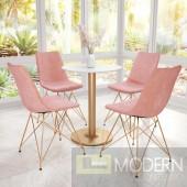 Parker Dining Chair Pink - Set of 4 LOCAL DMV DEALS