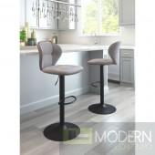Salem Bar Chair Gray - LOCAL DMV DEAL