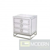 Giuseppe MIrror side table w/ 3 drawers