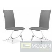 Delfin Dining Chair Grey