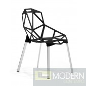 Obscure Dining Chair Black