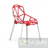 Obscure Dining Chair Red