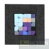 Puzzle  Wall Art Black frame