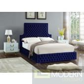 Angelique Velvet Bed