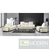 Modern Leather Sofa Set - MCNV104