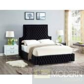 Sedona KING Velvet Upholstered Bed LOCAL DMV DEALS