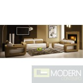 Modern Leather Sofa Set - MCNV105C