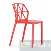 Juju Dining Chair Red