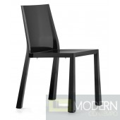 Popsicle Dining Chair Black
