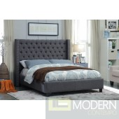 Ashton Linen  Upholstered Bed LOCAL DMV DEALS