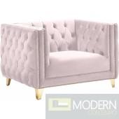 Desire Pink Velvet Chair