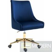 Lusso Velvet Office chair GOLD