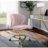 Finley Velvet Office Chair  Instore Item DMV deals