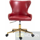 Hendrix Faux Leather Office Chair  LOCAL DMV DEALS