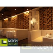 TEXTURED SURFACE CUSTOM 3D WALL SURFACE  PANEL-LOGS