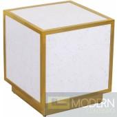 White Luminous side Table