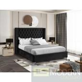 Aiden BLACK Velvet Platform Bed LOCAL DMV DEALS