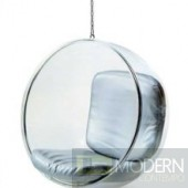 Bubble Chair - Silver Cushions