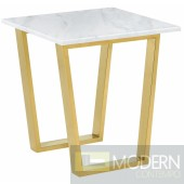 Carrie Gold End table